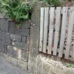 Stone marker Furnbrook Gardens