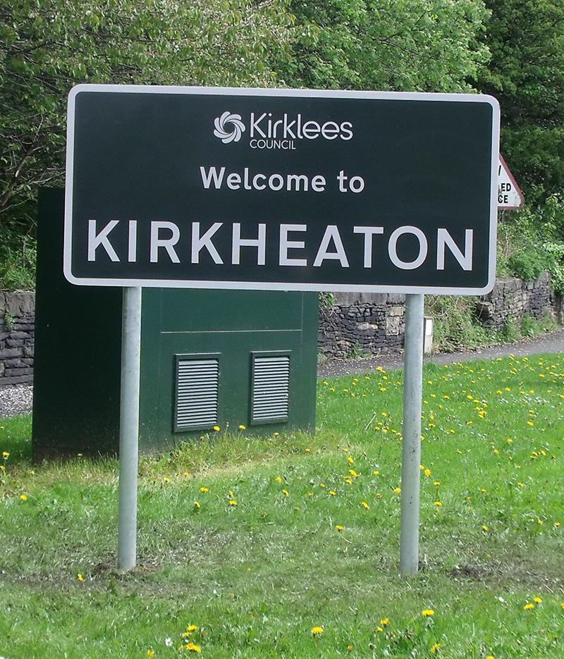 Kirkheaton sign