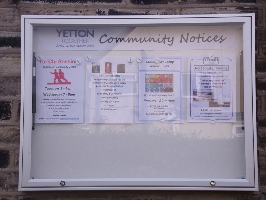 16 August CC Notice board