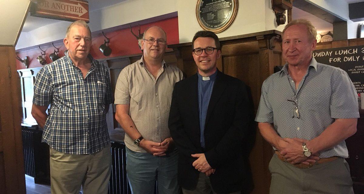 Colne Bridge fire plaque unveiled at local pub
