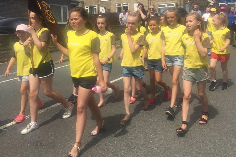 Brownies on the march!