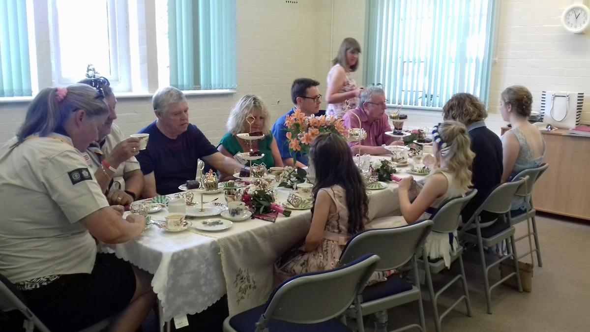 Queens tea party