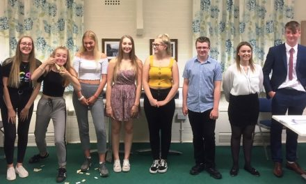 NCS students raise money for Community Centre