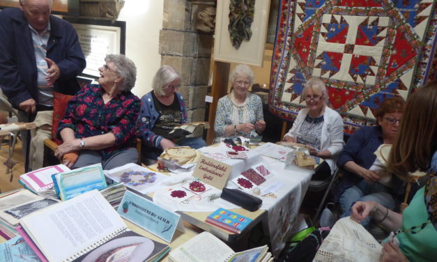 Huddersfield Embroiderers Open Day