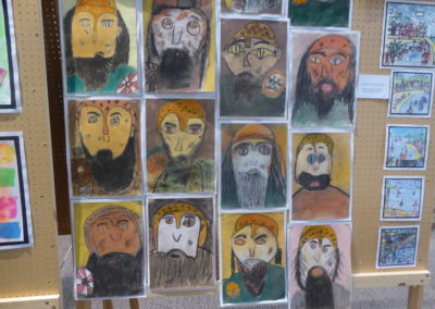 The Vikings are coming - Art work from Dalton School